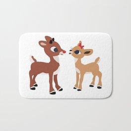 Classic Rudolph and Clarice Bath Mat