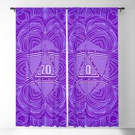 Natural 20 Mandala Tiefling Temptation Blackout Curtain