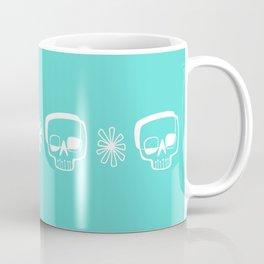 Mid-Mod Skull Coffee Mug