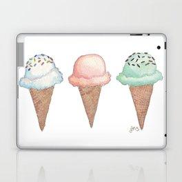 Three Ice Cream Cones Laptop & iPad Skin