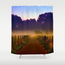 Misty Dawn Shower Curtain