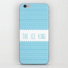 the ice king pattern...mathamatical! iPhone & iPod Skin