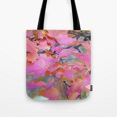 Autumn Rainbow Colors Tote Bag