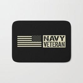 Navy Veteran Bath Mat