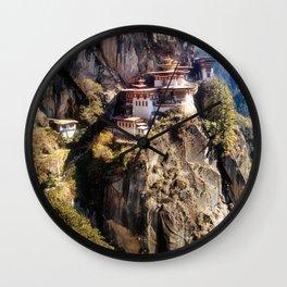 Taktshang Goemba - Tiger's Nest Monastery Wall Clock