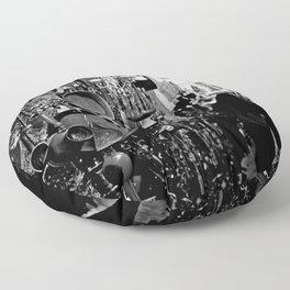 Market-B&W Floor Pillow