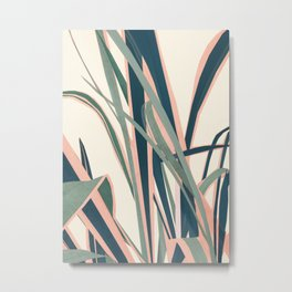 Colorful Plant Metal Print