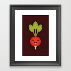 Radish Framed Art Print