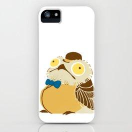 A Fancy Potoo iPhone Case