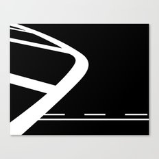 Lines: Two Canvas Print