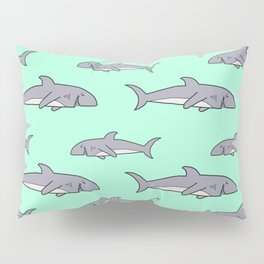 Happy Sharks Happy Summer Pillow Sham