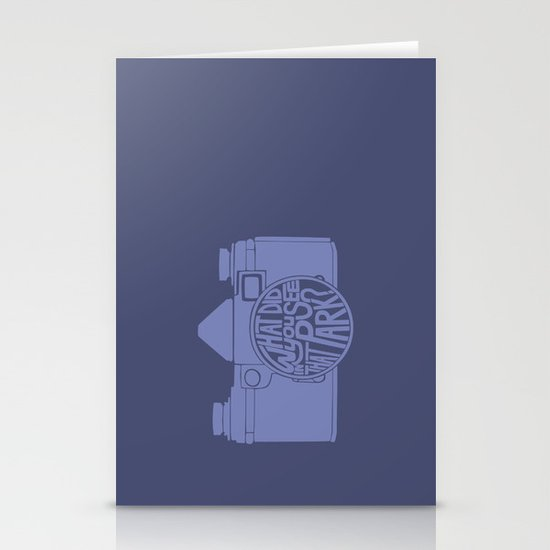 What Did You See in that Park? -Blow-Up Stationery Cards