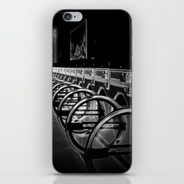 Darkside of the Laundry-mat iPhone Skin