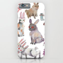 all rabbits want to celebrate iPhone Case