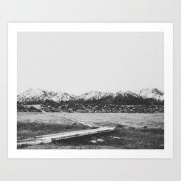 THE MOUNTAINS XIV Art Print