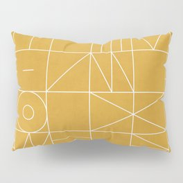 My Favorite Geometric Patterns No.4 - Mustard Yellow Pillow Sham