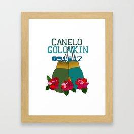 Canelo vs GGG Framed Art Print