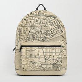 Map of Harrisburg City, Pennsylvania (1895) Backpack