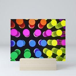 Color Burst Mini Art Print