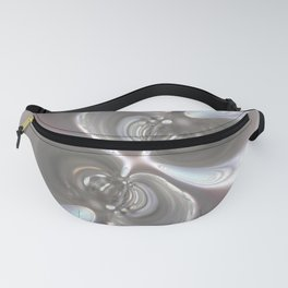 Binary Stars - Abstract Art By Fluid Nature Fanny Pack