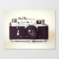 Zorki vintage camera Canvas Print