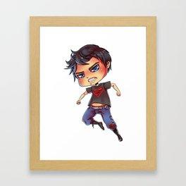 Superboy Framed Art Print