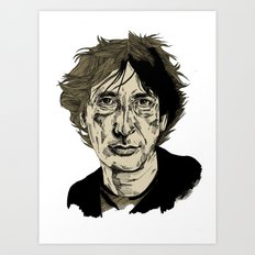 Neil Gaiman Art Print