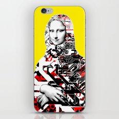 Mona Lisa Platina 2 iPhone & iPod Skin
