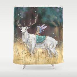The Traveler Shower Curtain