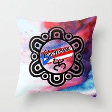 Boricua 2016 Throw Pillow