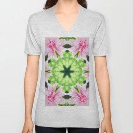 Flowering Unisex V-Neck