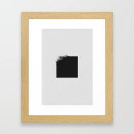 black 02 Framed Art Print