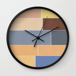 The Decay of Color Wall Clock
