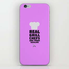 Real Grill Chefs are from Auckland T-Shirt D37l9 iPhone Skin