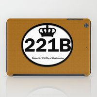 221b iPad Cases featuring 221B by Lugonbe