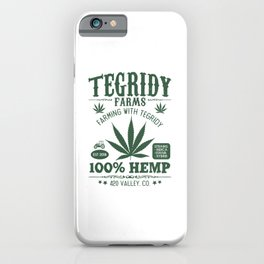 Tegridy Farms iPhone Case