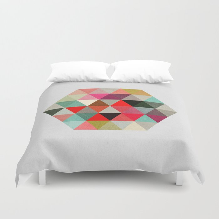 Geo Hex 03. Duvet Cover