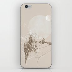 Lunar Thoughts iPhone & iPod Skin