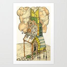 Calliope Apocalypse Art Print