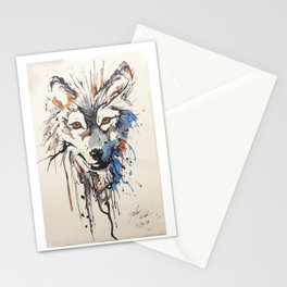 Wolff - BlueFooTattoo @SydTheKid911 Stationery Cards
