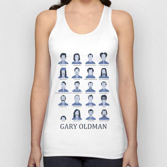 Gary Oldman Unisex Tank Top