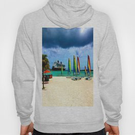 DCL Cruise Ship from Port in the Bahamas Hoody