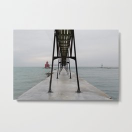 North Pierhead Metal Print