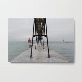 North Pierhead Metal Print