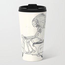 Indian Rider Metal Travel Mug