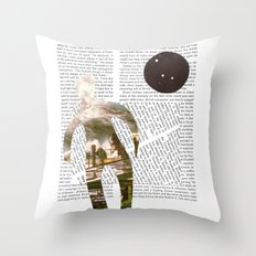 Media Landscape Walkers 2 Throw Pillow