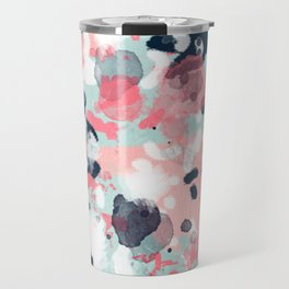 Jilly - modern abstract gender neutral canvas art print large scale abstract painting Travel Mug