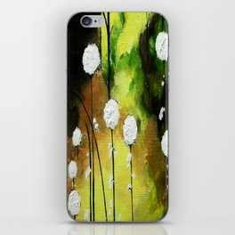 Thistles iPhone Skin