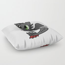 Toothless Floor Pillow