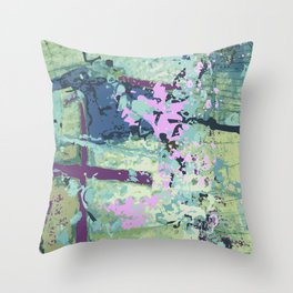 Men in Tights Throw Pillow
